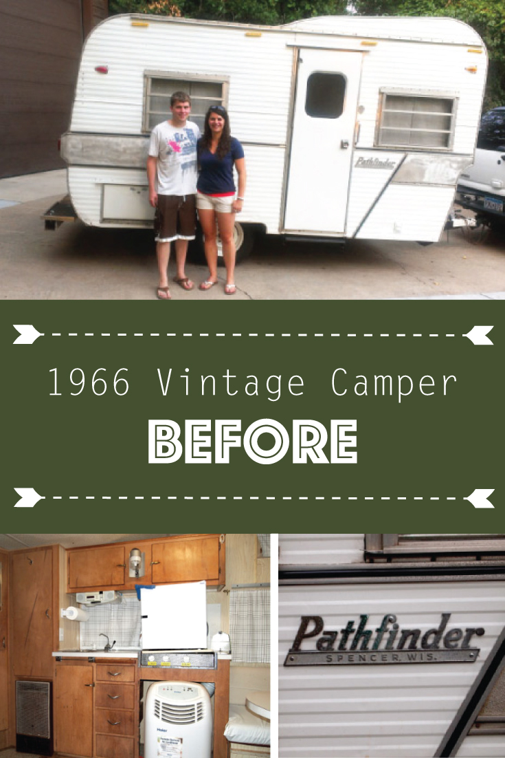 1966 Vintage Camper Before