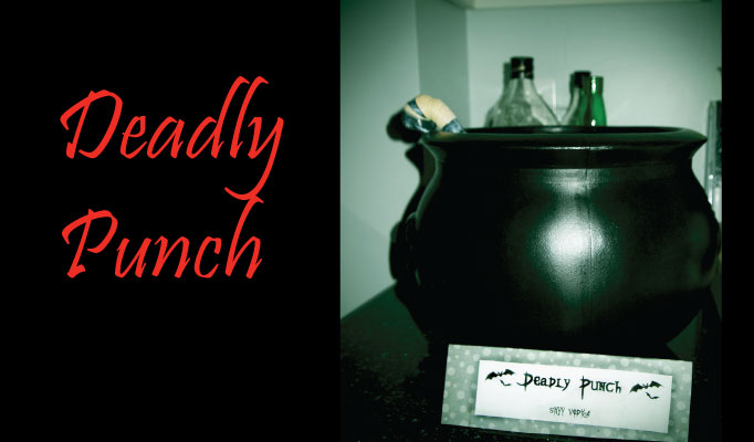 Halloween Party Alcoholic Deadly Punch Recipe