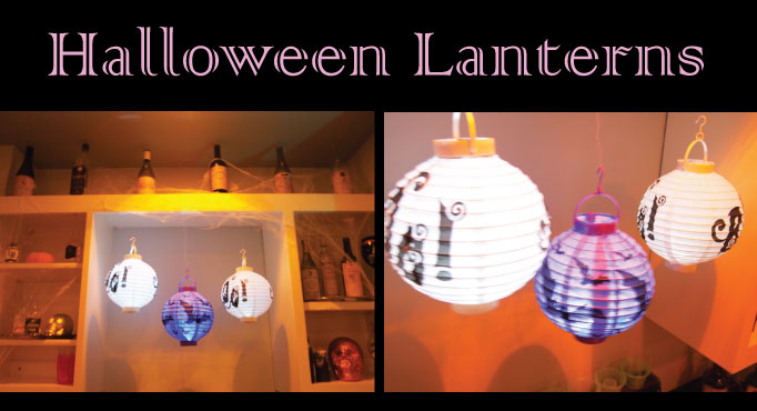 Halloween Decor Ideas - Lanterns