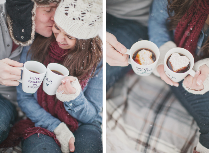 Winter Engagement Photos | Creative Mess in a Corporate Dress (Erin Jean Photography)