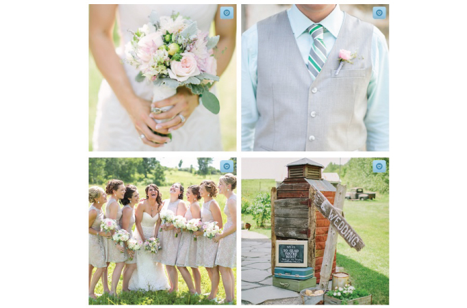 Our Enchanted Barn Wedding - Published On The Knot | Creative Mess in a Corporate Dress