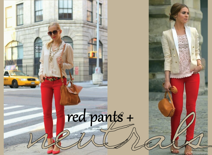 Styling Red Pants | Creative Mess in a Corporate Dress
