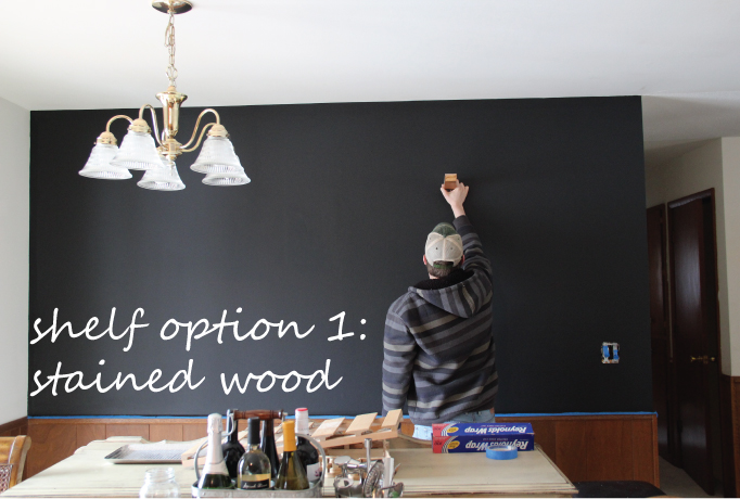 DIY Chalkboard Wall | Creative Mess in a Corporate Dress