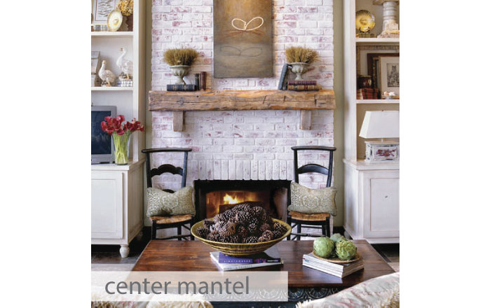 Fireplace Mantel Plans | Creative Mess in a Corporate Dress