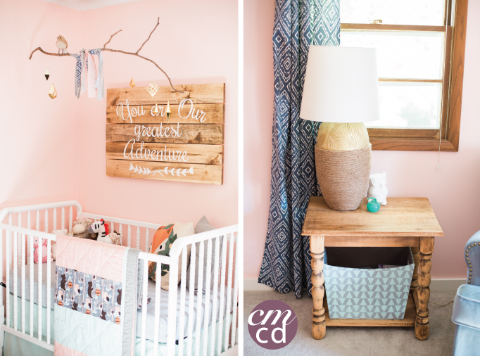 Baby Girl Woodland Nursery