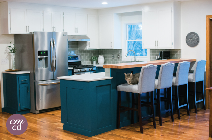 Kitchen Renovation Before and After | Creative Mess in a Corporate Dress