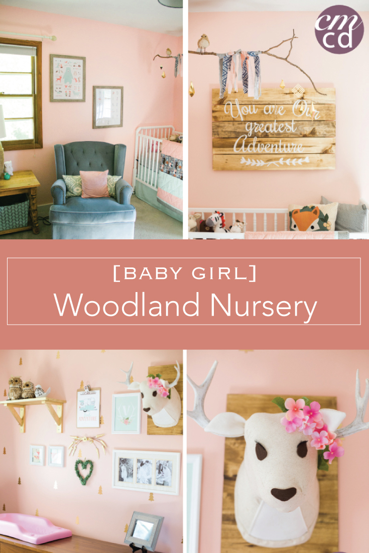 Baby Girl Woodland Nursery | Creative Mess in a Corporate Dress